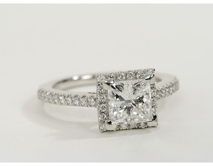 180 best images about halo engagement rings on