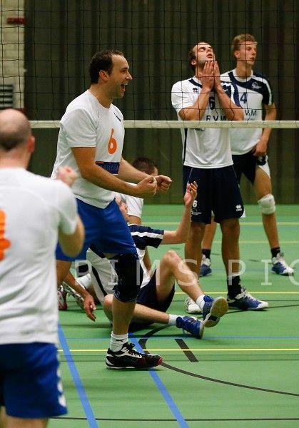 Sliedrecht Sport 2 - Particolare (0-4) 5/10/13   Foto PimsPictures.nl   #volleybal #volleyball #1edivisie