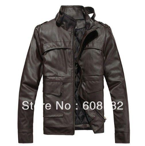 New Fashion Man long Jacket  male (PU)  winter coat  warmer sweatshirts  201208069