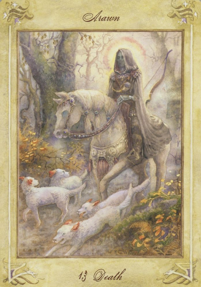 Llewellyn Major Arcana Tarot 13 Death