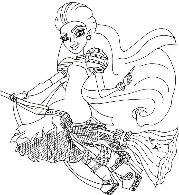 Download Monster High Coloring Pages Gigi Grant di 2020