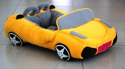 VIP Sports Car Pet Bed