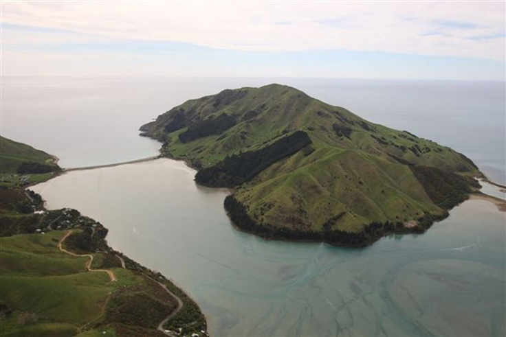 Pepin Island - Photo from helicopter