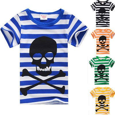 Boys 100% Cotton Short-Sleeve Summer T-Shirt FREE SHIPPING!!! by RebelStreetClothing on Etsy