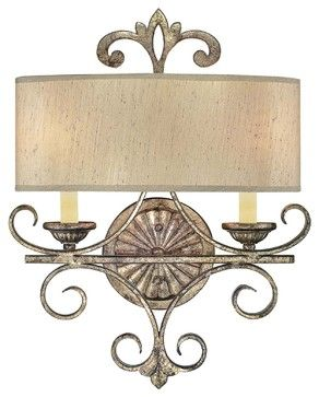 Savonia 2-Light Sconce mediterranean-wall-sconces