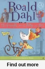 I loved this book.  Dahl had a great sense of humour, which shows in his selection of which animals would make good window cleaners, and throughout this book.  When the animals are given work by a rich gentleman, they help him out by foiling a burglary.  I liked the illustrations, the humorous verses, and the wonderful ending!  A great read for kids.  A similar read is 'The Owl who was Afraid of the Dark' by Jill Tomlinson  -Joanne