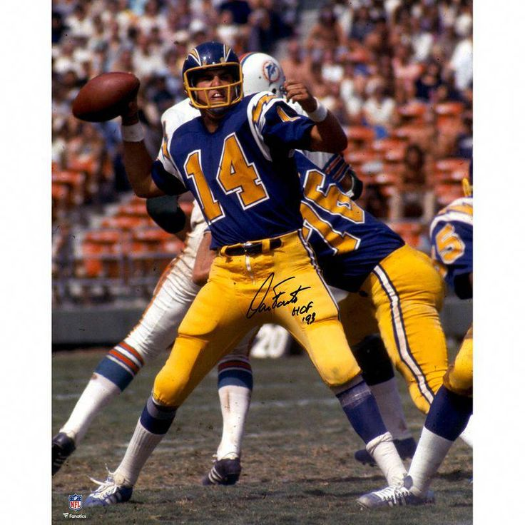 Dan Fouts San Diego Chargers Fanatics Authentic