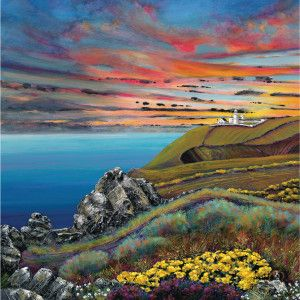 Landsend sunset by Gilly Johns