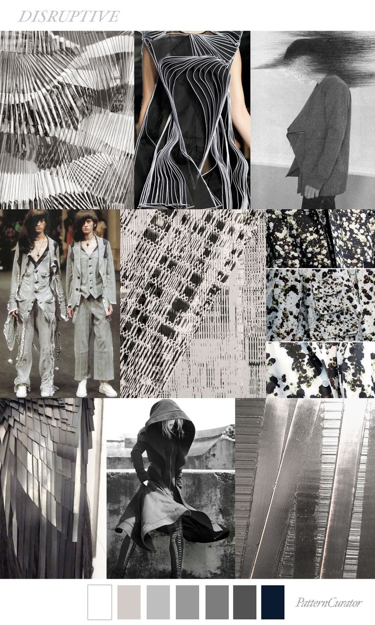 DISRUPTIVE on PatternCurator.org #FW18
