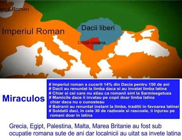 Dacii si limba latina