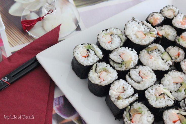 My Life of Details (Mi Vida de Detalles): Cena Japonesa: Sushi, Nigiri y Pollo a la Naranja