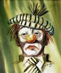foto de 148 best images about Sad Clowns on Pinterest The