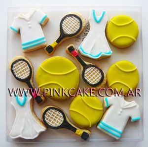 Cookies decoradas tenis