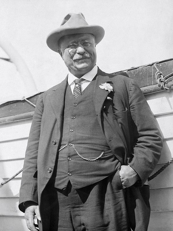 You know who loved a good fur felt hat? Theodore Roosevelt. This man was the real deal and represented everything a U.S. President should be.