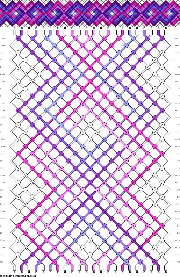 22 strings, 32 rows, 7 colors