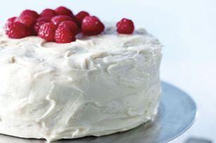 White Chocolate-Raspberry Cake recipe