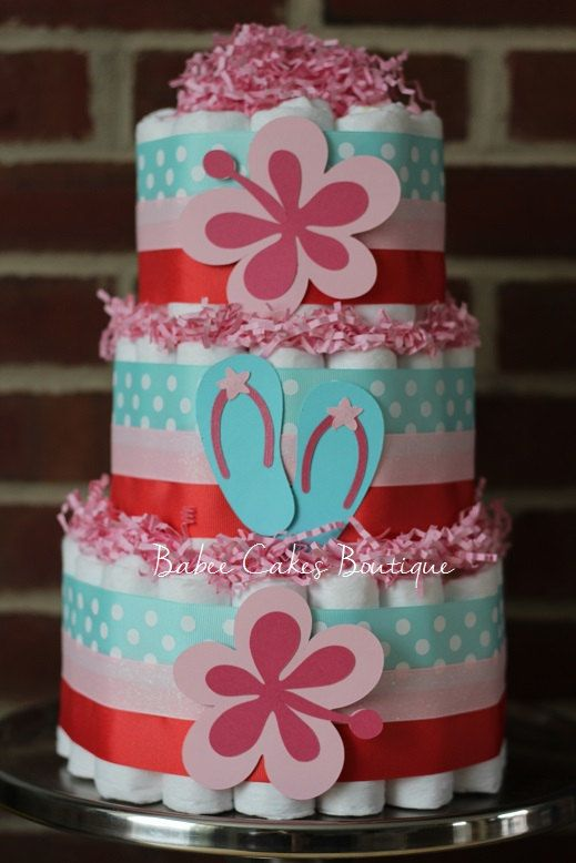 Tier Baby Shower Cake