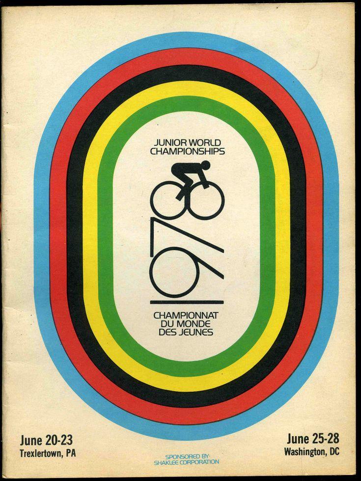 1978 Junior World Cycling Championships Program Schwinn Paramount Track Bicycle | eBay