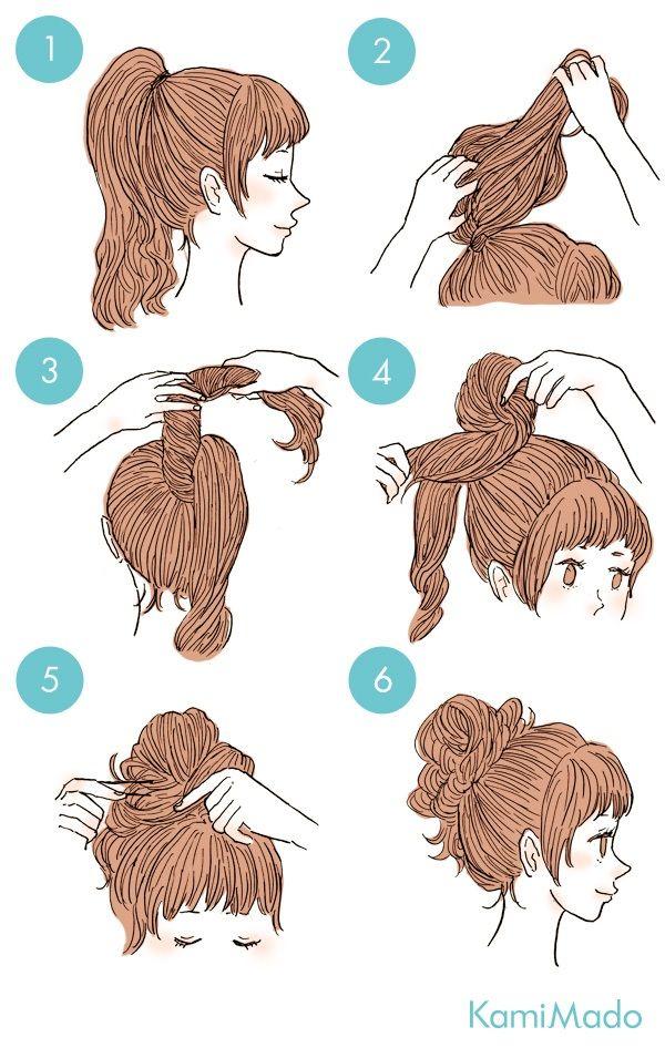 Aprenda a fazer 10 coques fáceis para arrasar durante o verão. Tutoriais de cada modelo de coque. Gravuras para auxiliar ao fazer o penteado em casa.