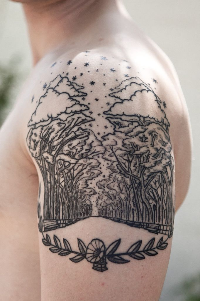 Darryl Hanna - Golden Age Tattoos - Austin, TX