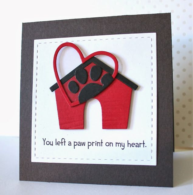 Marvelous Card Making Ideas Dogs Part - 10: Maybe I Can Make This For Christmas Cards This Year!