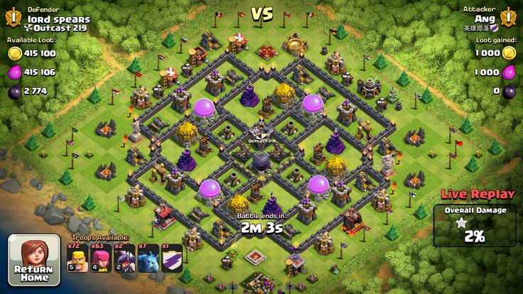 clash of clans farming base what is it