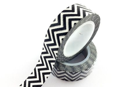 waves washi tape,corrugated washi tape,black and white waves washi tape E-mail: sale8@packingtape.cn