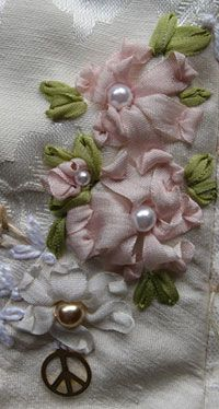 crazy quilts ribbon pearls | Posted in Crazy Quilting || No Comments »