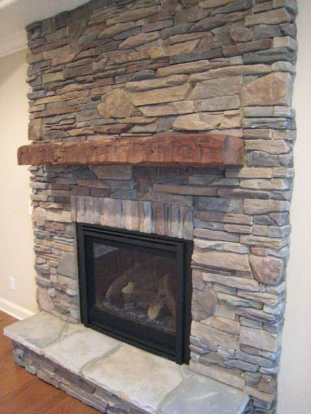 Family Room Mantel Would Love This Behind The Wood Stove