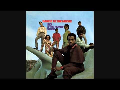 Sly and the Family Stone- Dance to the Music. This actually does make me wanna dance.