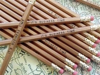 Its business time pencils