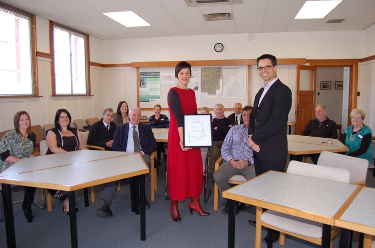 Rangitikei District Council receive their first IIP accreditation in September 2012
