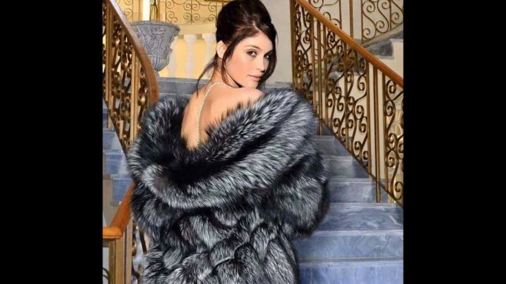 Woman In Silver Fox Fur Part 10
