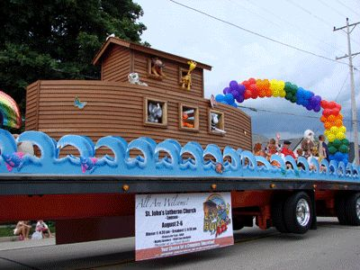 Vacation Bible School - Parade Float by St. John's - Lannon, WI