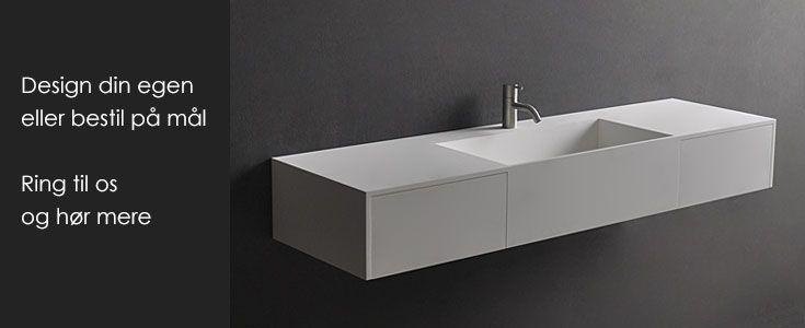 Håndvask - Køb design håndvaske i eksklusiv kvalitet her