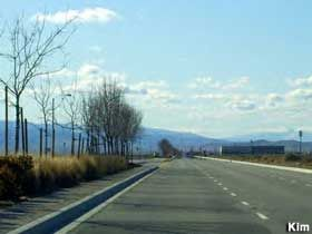 """""""Musical Road"""" in Lancaster, CA:  Drive over the rumble strip and you'll hear the William Tell Overture."""