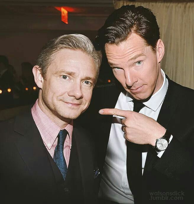 This looks fairly recent? Martin wore this suit for WTF premiere .......Benedict must have been there too