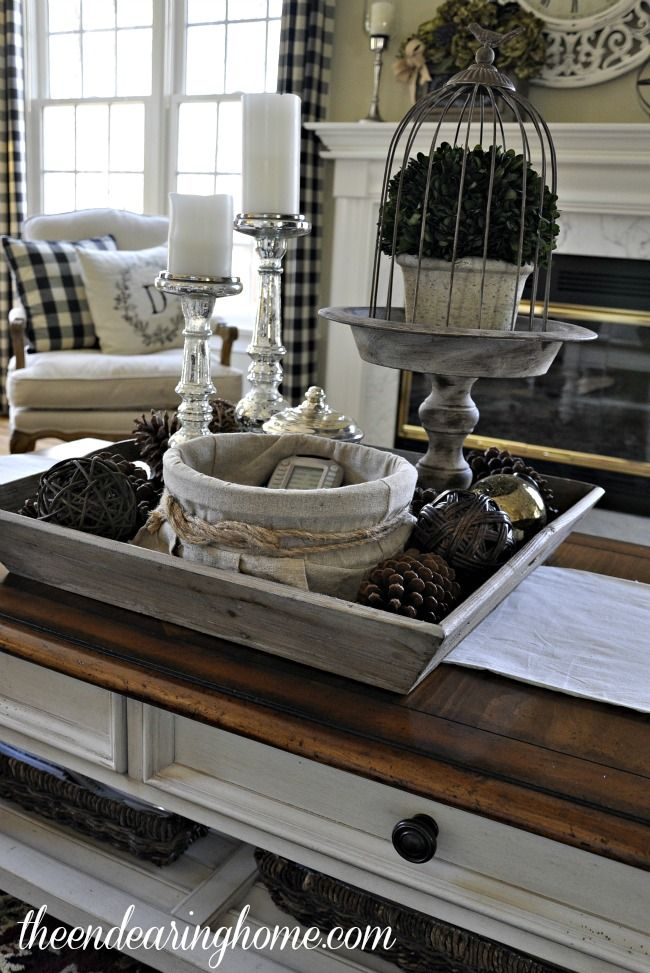 307 Best Tray And Coffee Table Vignettes Images On