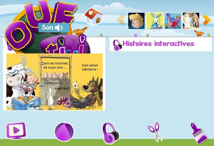 Histoires interactives à écouter
