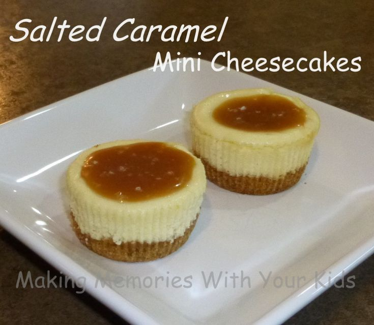 salted caramel mini cheesecakes- made these for a birthday this weekend- they were outstanding. i subbed in neufchâtel, splenda brown sugar, ff cream. j.k.