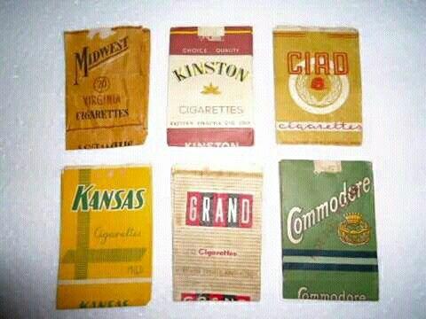 Kinston, CIAD (Cigaret Angkatan Darat), Kansas, Commodore, Grand, Midwest cigareties.