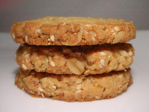 Colazione biscotti con muesli