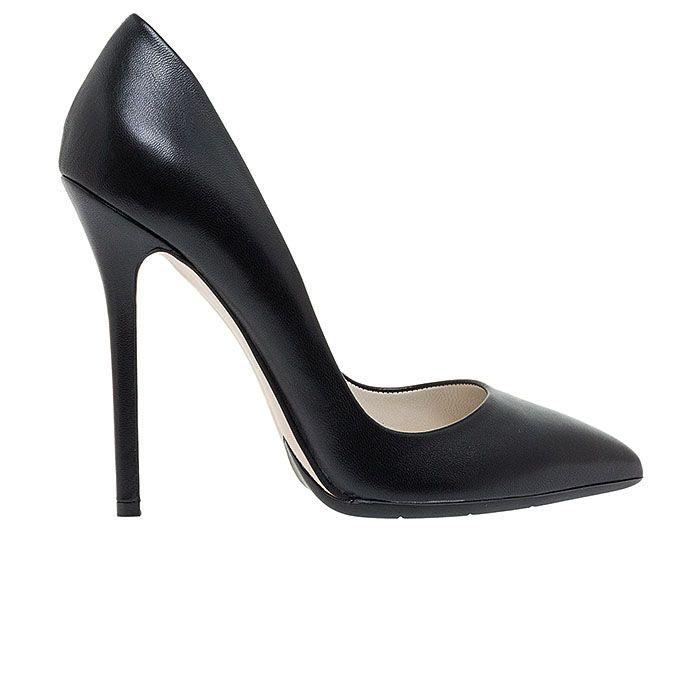 1203A00-BLACK LEATHER www.mourtzi.com #pumps #heels #mourtzi #greekdesigners