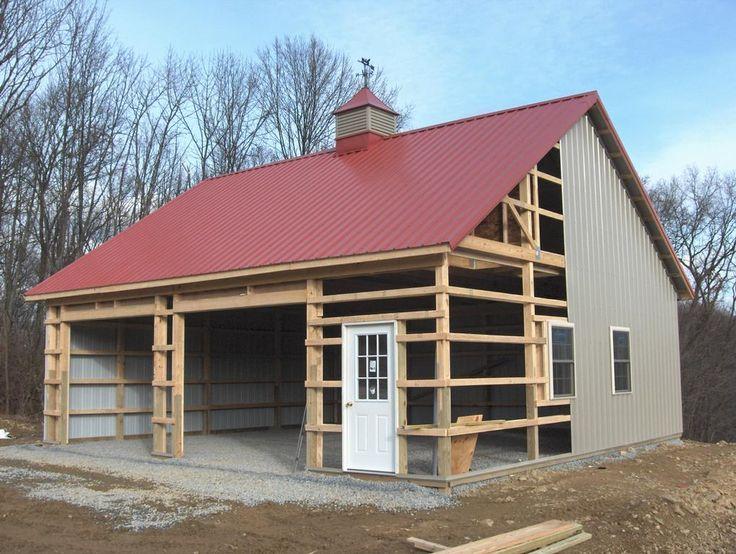 Best 25 steel trusses ideas on pinterest steel for Garage building companies