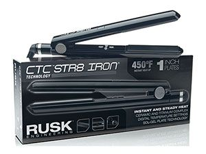 Our testers raved about the Rusk CTC Professional Ceramic Flat Iron for its ability to get hot and straighten hair quickly.