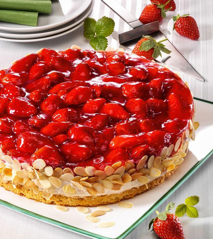 Rezept für eine leckere Erdbeer-Quark-Torte - www.ihr-wellness-magazin.de