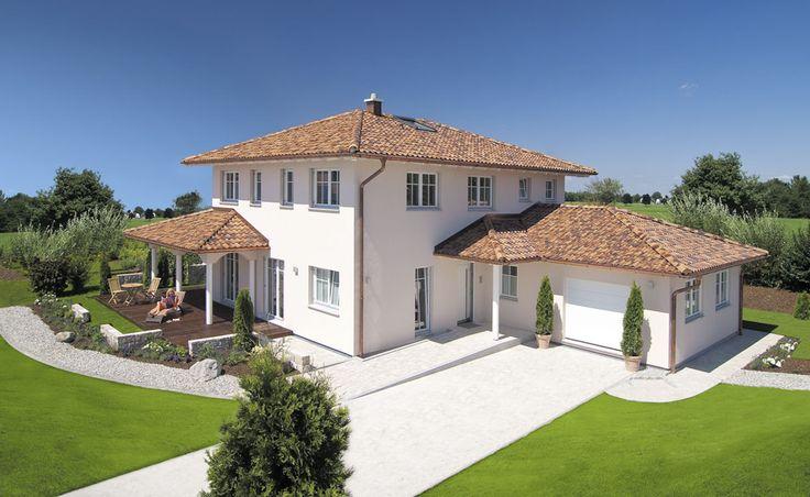 25 frei geplante Architektenhäuser von Haas Fertigbau | Fertighaus, Fertighäuser und Holzhäuser