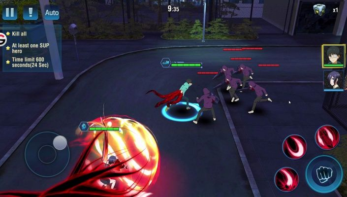 Tokyo Ghoul Dark War is a Free Android Action RPG Mobile
