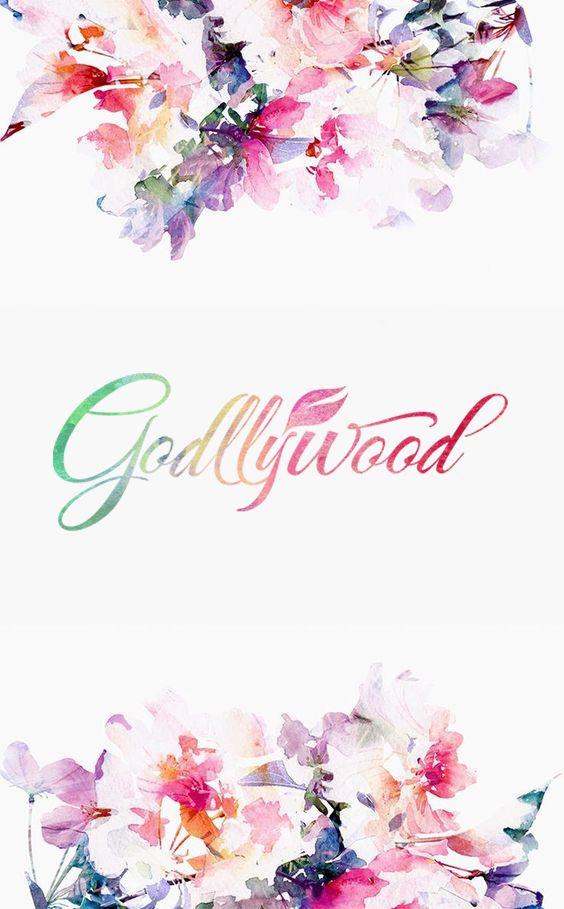 Godllywood Phone Wallpaper Watercolors