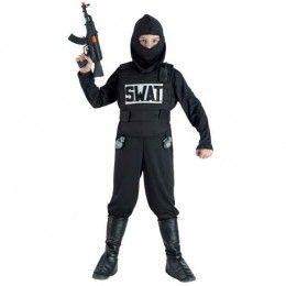 Swat Team στολή για αγόρια αστυνόμους ειδικών αποστολών